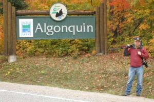Camper Ken in Algonquin Provincial Park